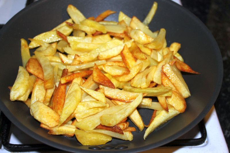 Cartofi prajiti calorii